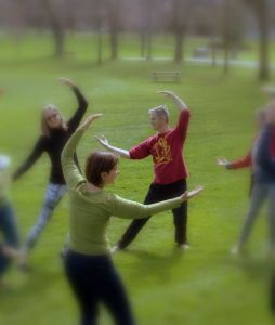 Qigong in Waterloo Park